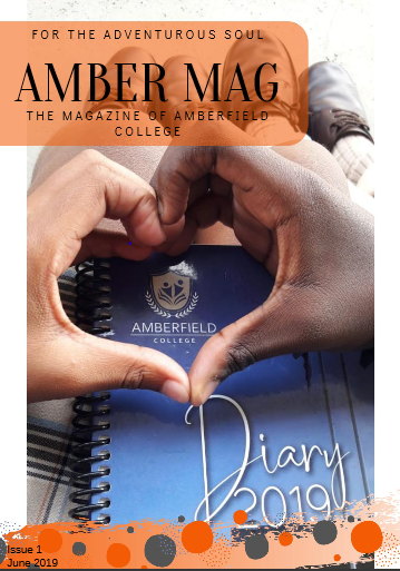 Amber Mag Issue 1 Cover