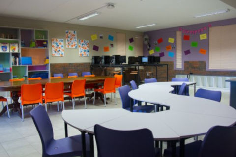 amberfiled school classrooms